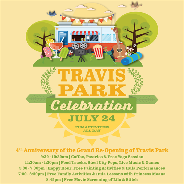 Travis Park Community Event