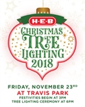 H-E-B Christmas Tree Lighting